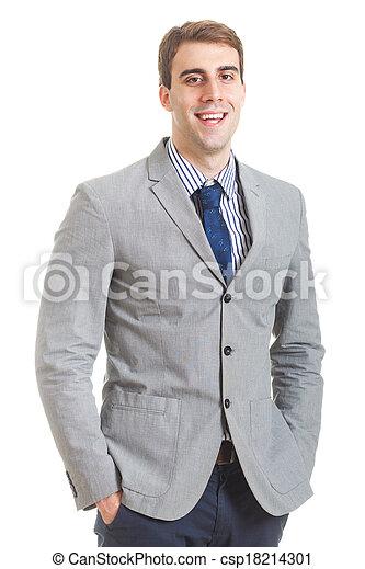 Young Businessman - csp18214301