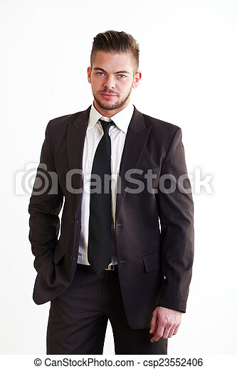 young businessman - csp23552406