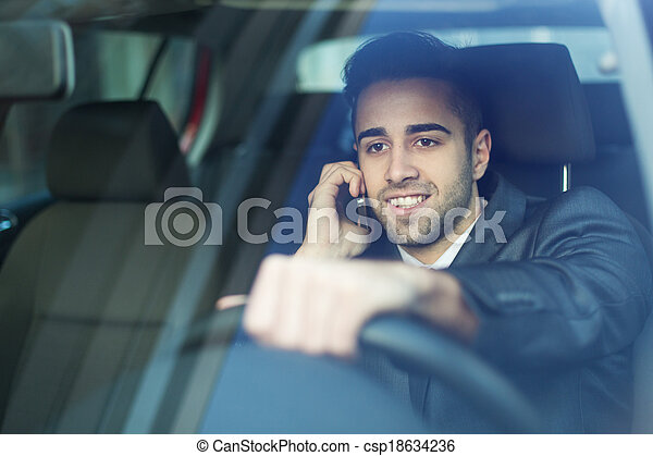 Young Businessman - csp18634236