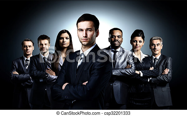 young businessmen - csp32201333