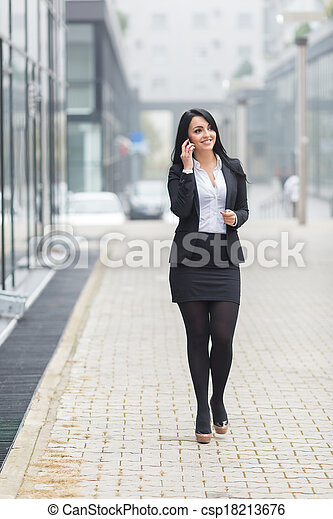 Young Businesswoman - csp18213676