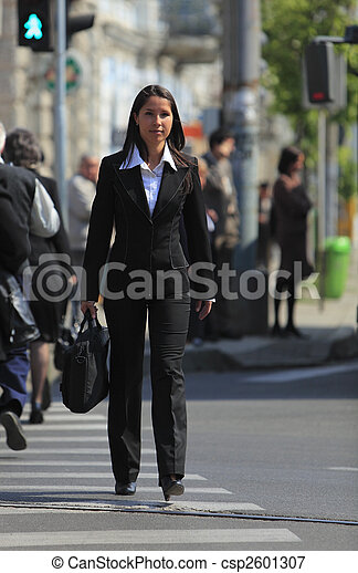 Young businesswoman - csp2601307
