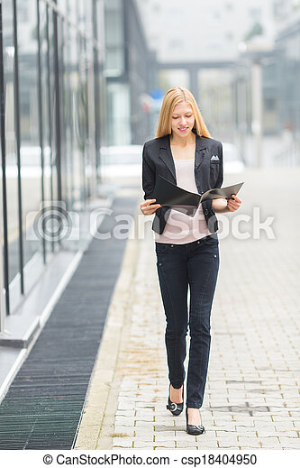 Young Businesswoman - csp18404950