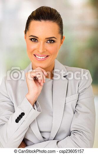 young caucasian woman - csp23605157