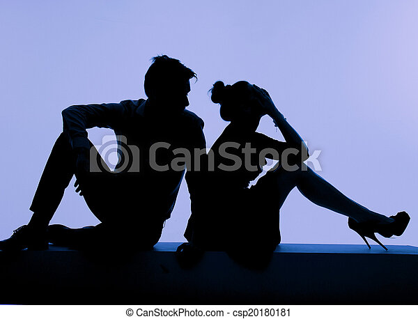 Young couple during the fight - csp20180181