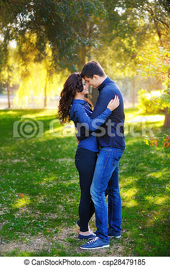 Young couple have romantic - csp28479185