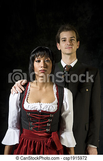 young couple - csp1915972