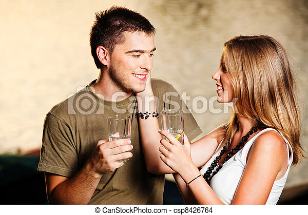 Young couple - csp8426764