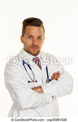 young doctor - csp35981639