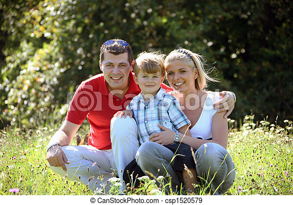Young family - csp1520579