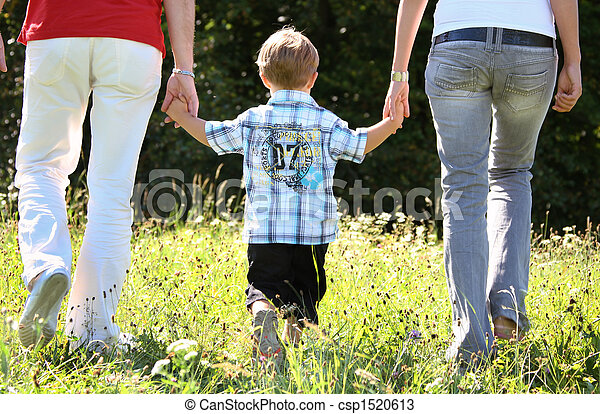 Young family - csp1520613