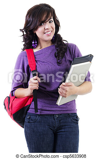 Young female student - csp5633908