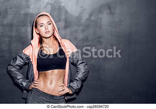 young fitness woman - csp26594720