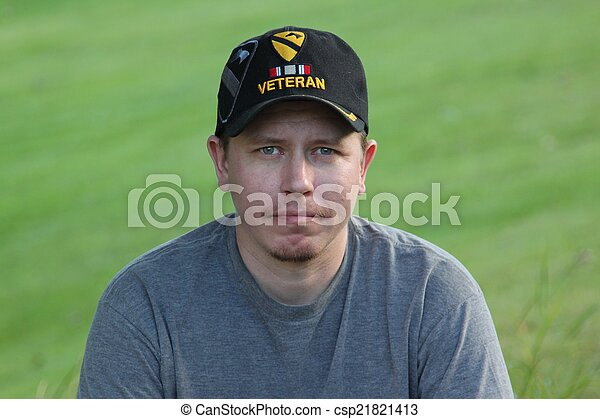 Young Generation X Operation Iraqi Freedom Veteran - csp21821413