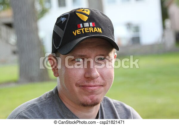 Young Generation X Operation Iraqi Freedom Veteran - csp21821471