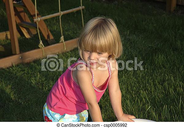 Young Girl 2 - csp0005992