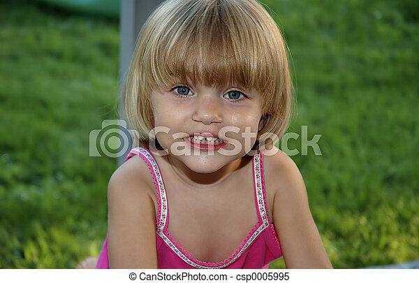 Young Girl 3 - csp0005995