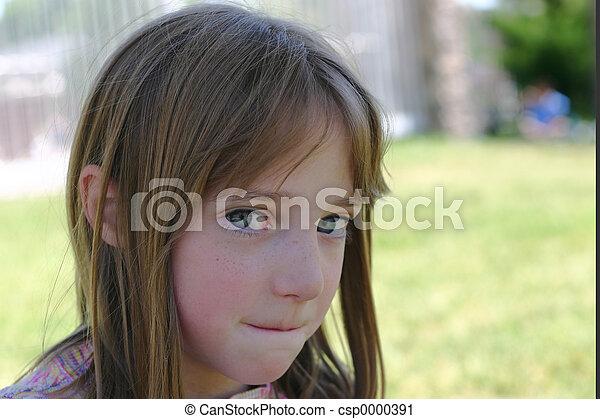 Young Girl - csp0000391