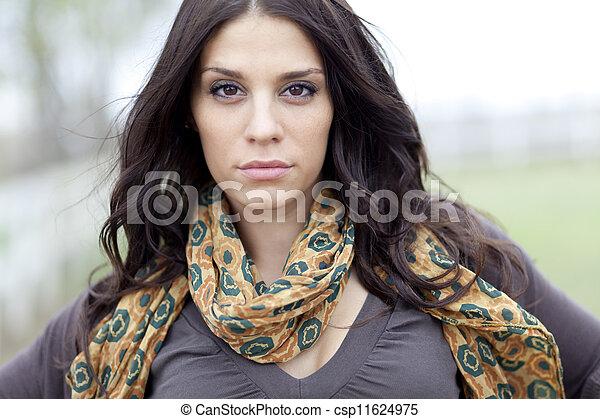 Young girl - csp11624975