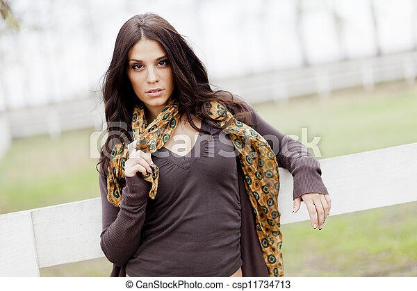 Young girl - csp11734713