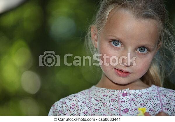 Young girl - csp8883441