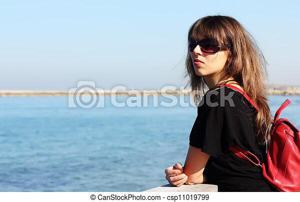 young girl - csp11019799