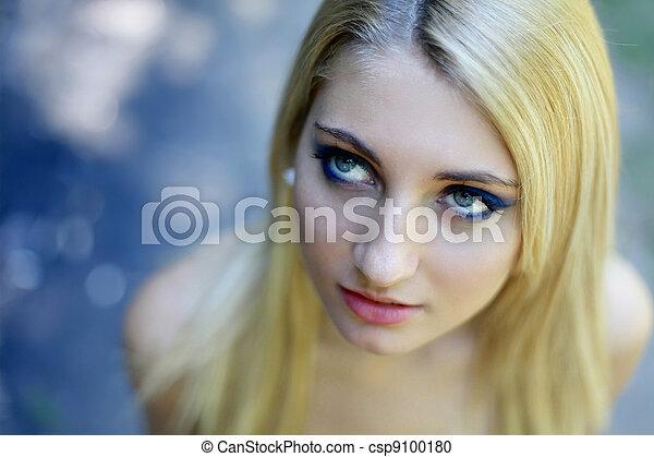 Young girl - csp9100180