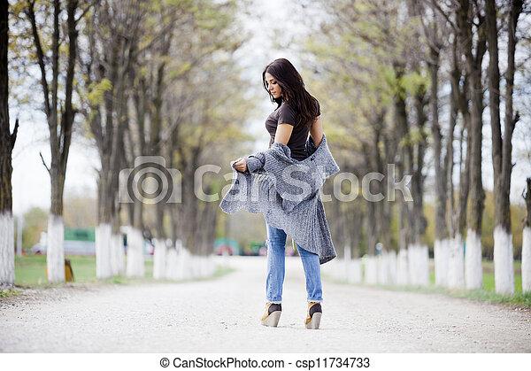 Young girl - csp11734733