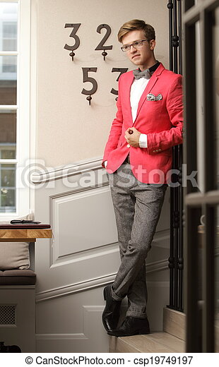Stylish Young Male Model Posing Stock Photos And Images