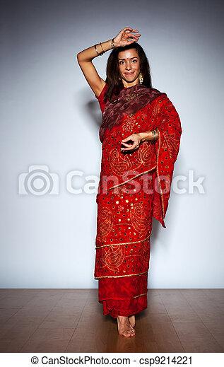 Young indian woman - csp9214221