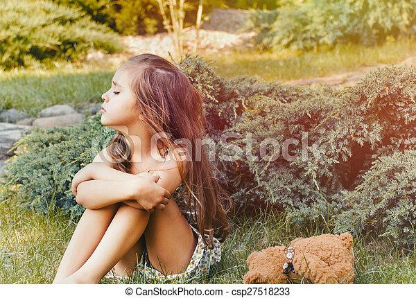 Naughty teens outdoors