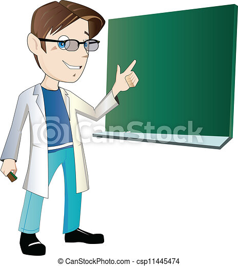 Young male teacher - csp11445474