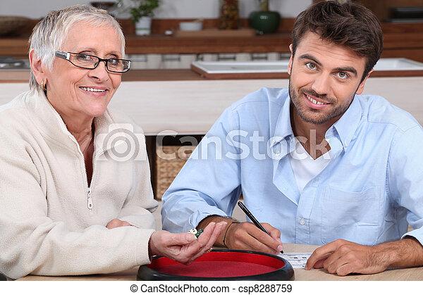 Older men, Younger women – The Dice.