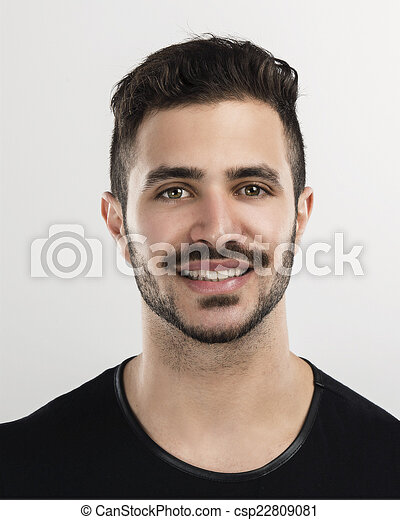 Young man smiling - csp22809081