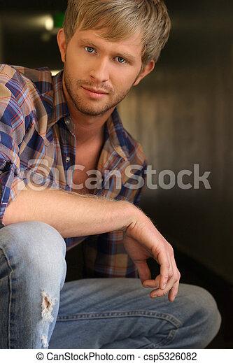 Young man - csp5326082