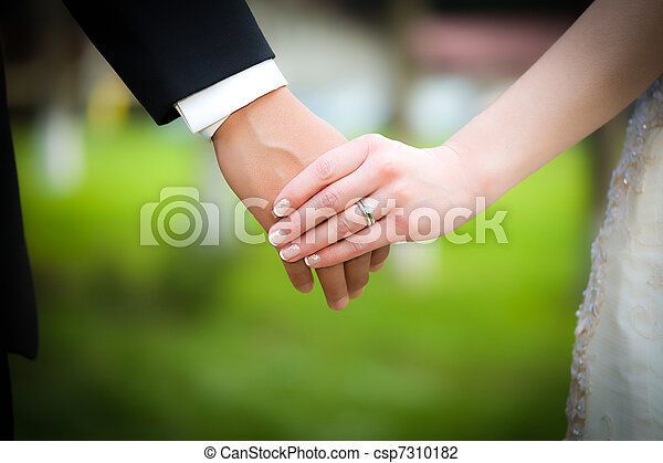 Married Couple Holding Hands