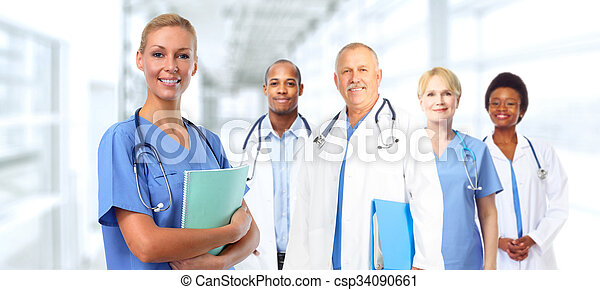 Young medical doctor woman. - csp34090661