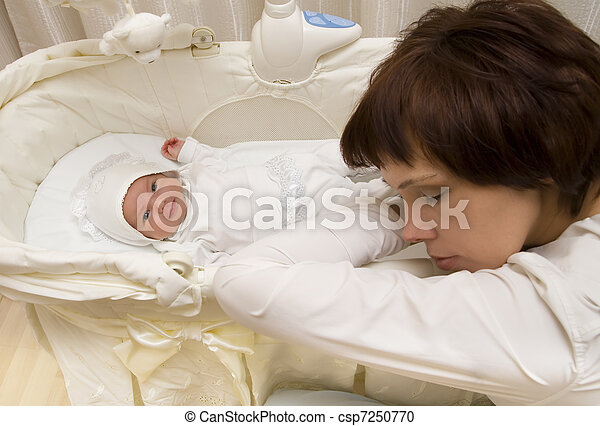 Young mother  - csp7250770