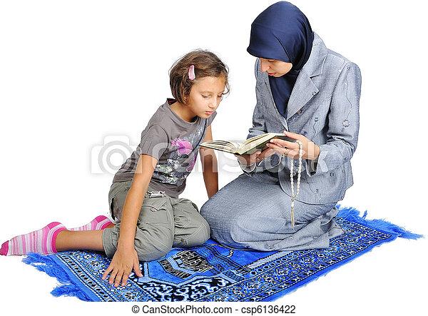 Light women teaching young boys