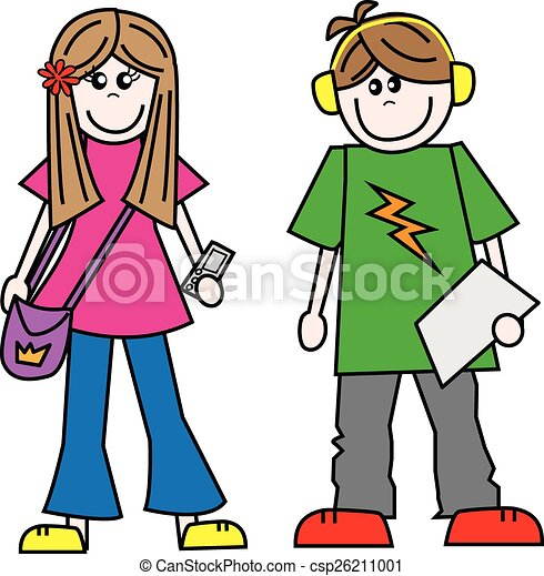 young people teens teenagers - csp26211001
