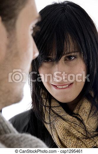 young seductive woman - csp1295461