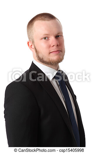 Young serious businessman - csp15405998