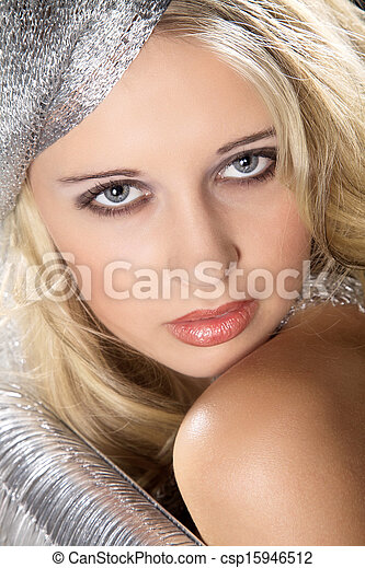 young woman - csp15946512