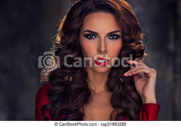 Young woman portrait - csp31883289