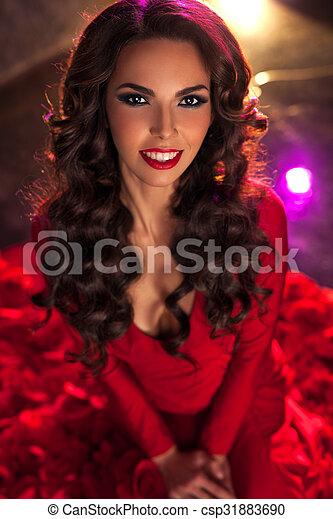 Young woman portrait - csp31883690