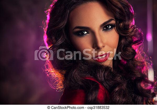 Young woman portrait - csp31883532