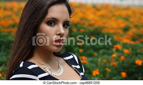 Young Woman - csp46851209