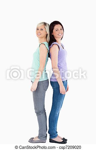 Young women posing - csp7209020