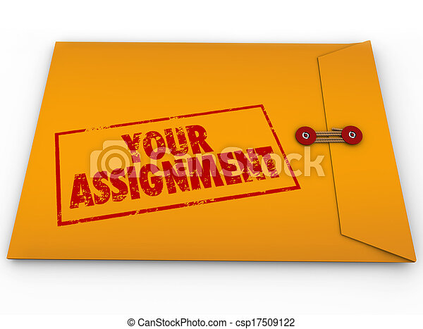 Your Assignment Task Yellow Envelope Secret Instructions - csp17509122