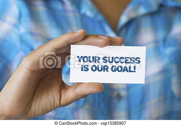 Your success is our goal - csp15385907